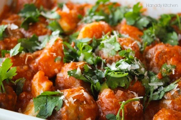 Italian Gnocchi And Middle Eastern Meatballs