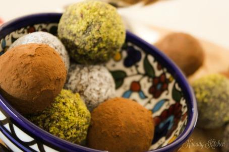 Chocolate Date Balls
