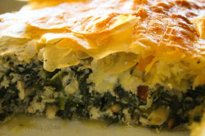 Spanakopita Spinach and Ricotta Pie