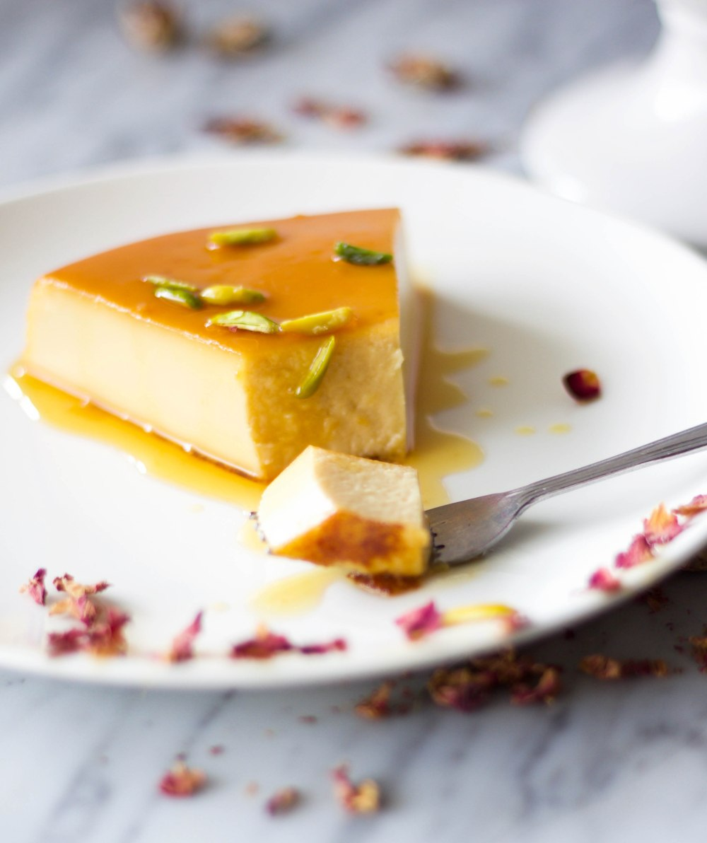 Flan De Queso Cream Cheese Flan